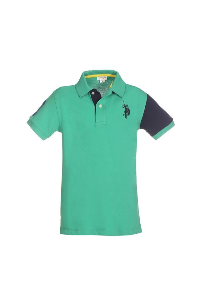 U.S. POLO ASSN. uspa colors polo green