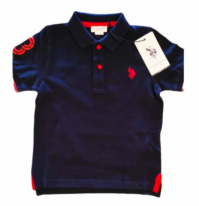 U.S. POLO ASSN. fluo polo blue