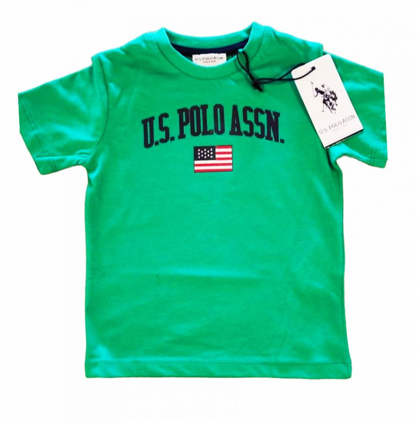 U.S. POLO ASSN. uspa t-shirt green