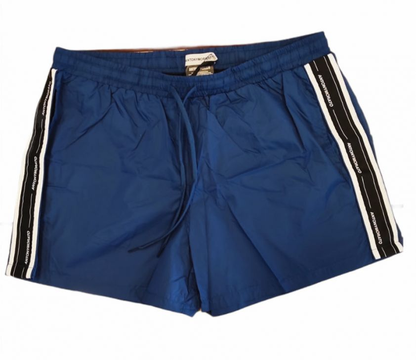 Antony morato BEACHWEAR IN QUICK-DRY NYLON FABRIC - dark cobalt