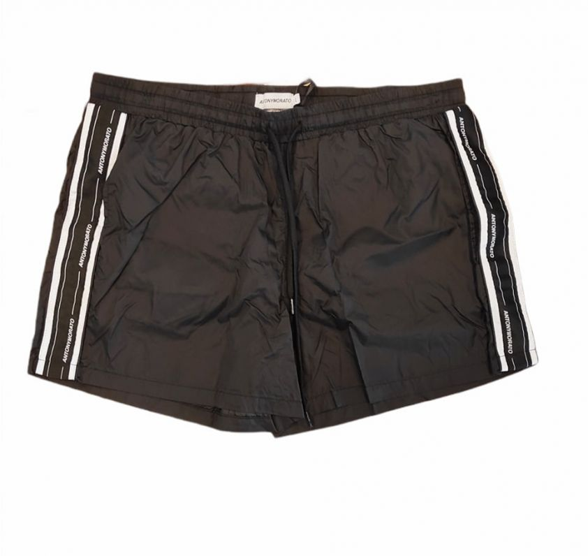 Antony Morato BEACHWEAR IN QUICK-DRY NYLON FABRIC - black