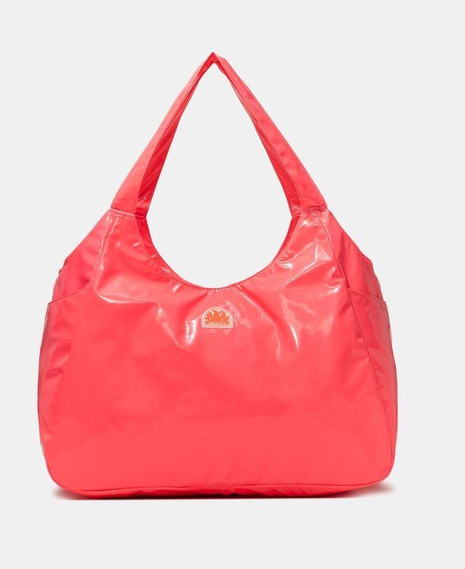 SUNDEK essex τσάντα λουστρίνι κόκκινη
