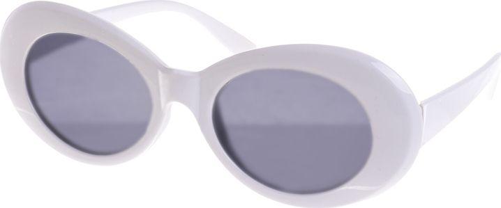 Ble retro sunglasses white