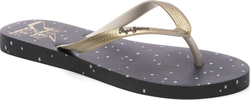 Pepe Jeans σαγιονάρες rake stars 2 μαύρες