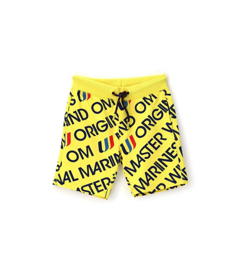 Original Marines cotton shorts yellow ujpr
