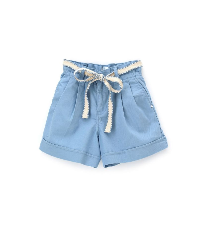 Original Marines cotton shorts light blue p7pr