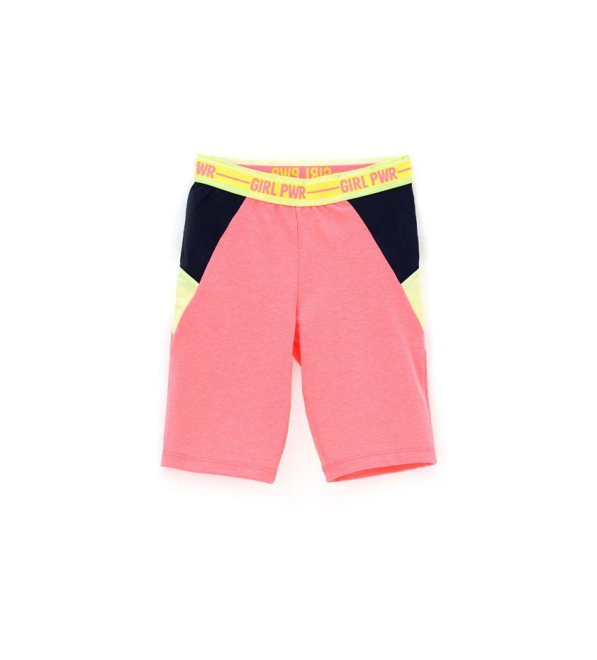 Original Marines elastic shorts pink fluo