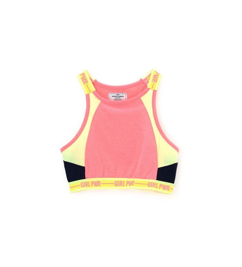 pink fluo top