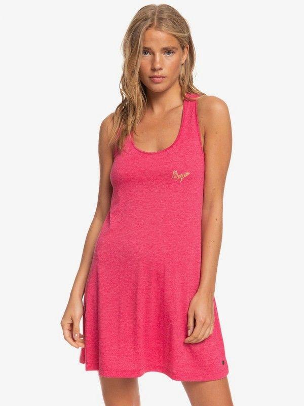 ROXY φόρεμα ERJKD03313 ροζ