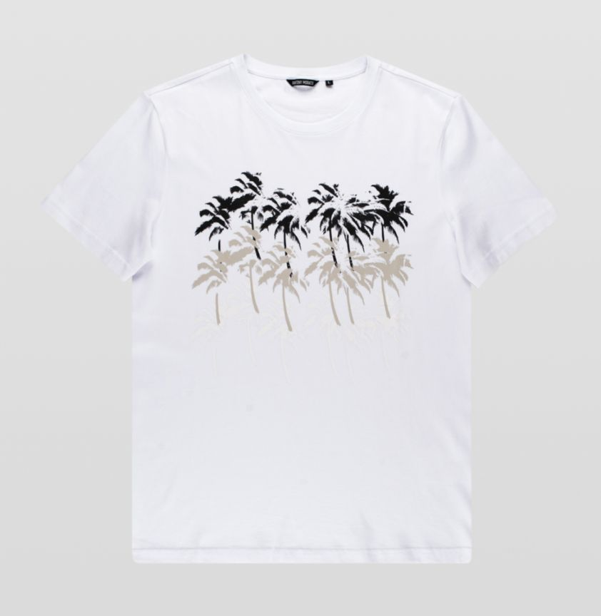 Antony Morato  new codes white t-shirt
