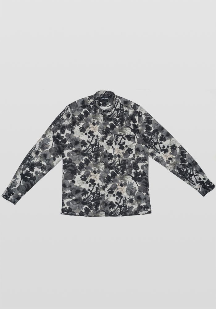 Antony Morato black n grey shirt