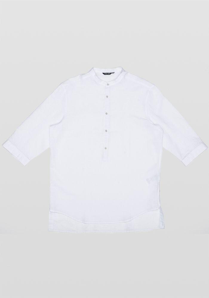 Antony Morato linen kurta white