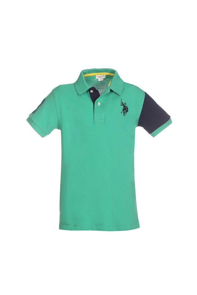 U.S. POLO ASSN. uspa colors polo green