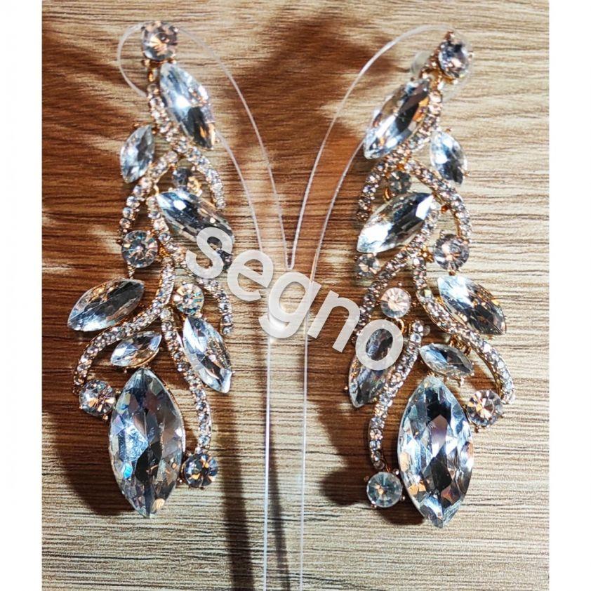 Σκουλαρικια Crystal Queen