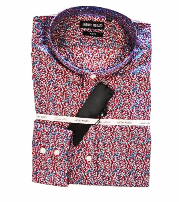 ANTONY MORATO πουκάμισο multicolore