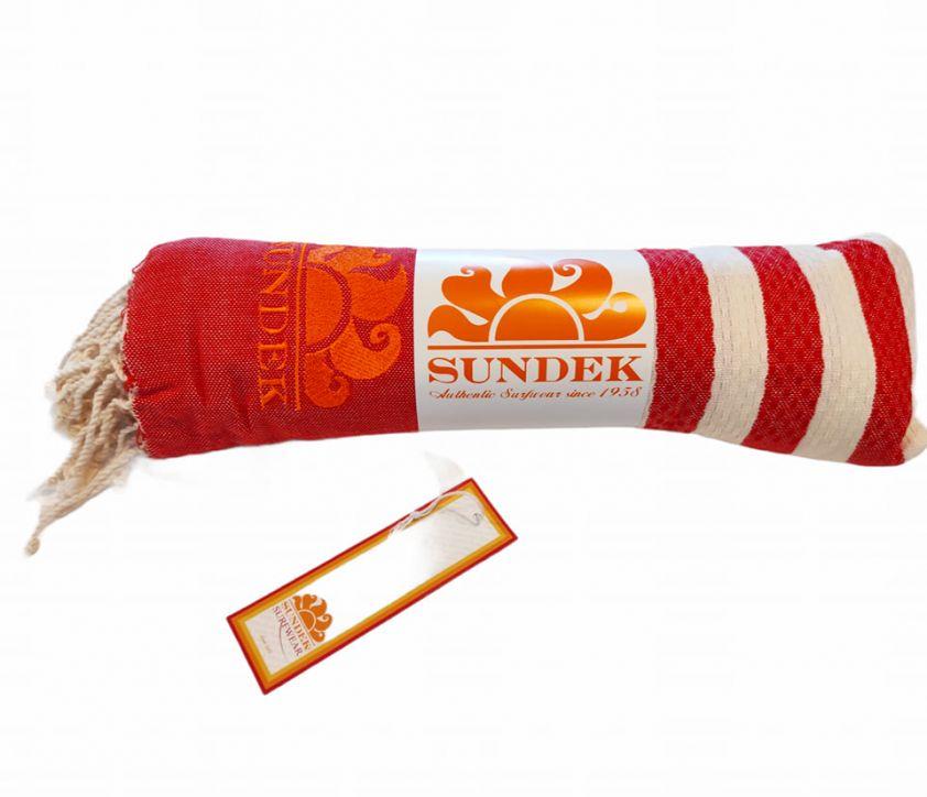 SUNDEK stokes towel red