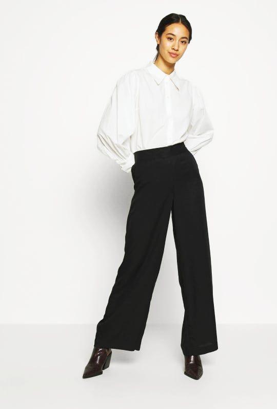 BYOUNG παντελόνι Golda μαύρο