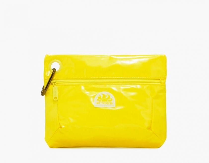 SUNDEK clutch with snap hook yellow