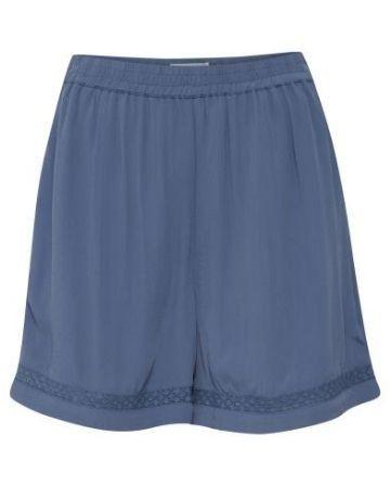 ICHI citro shorts blue