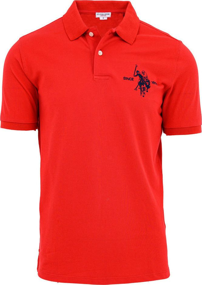 U.S. POLO ASSN. colar polo red