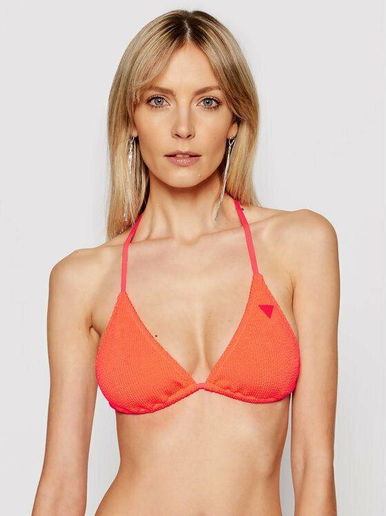Guess E1GJ53MC03P Orange bikini top