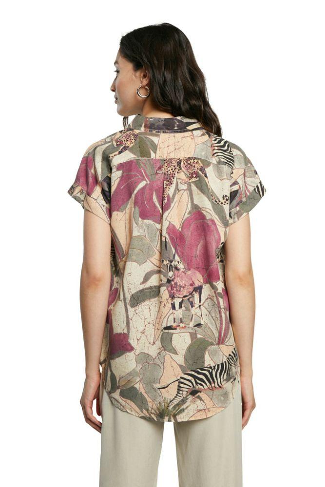 "Desigual γυναικείο πουκάμισο ""ethnican"""