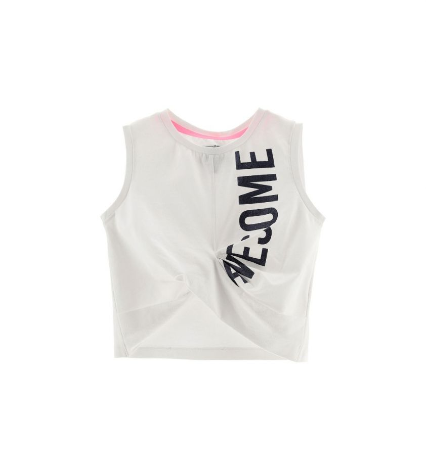 Original  awesome crop top white