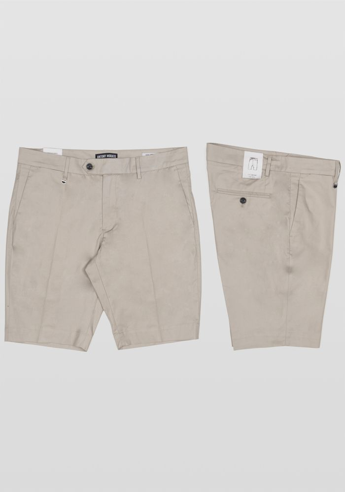 ANTONY MORATO Bryan skinny Bermuda shorts in stretch cotton