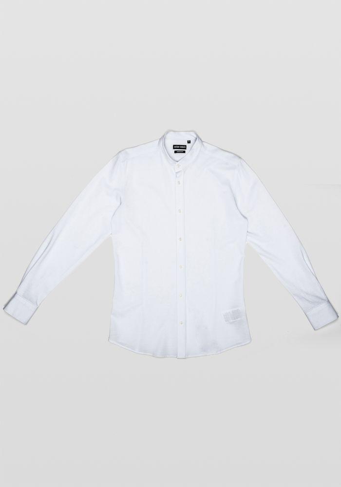Antony Morato white linen shirt b