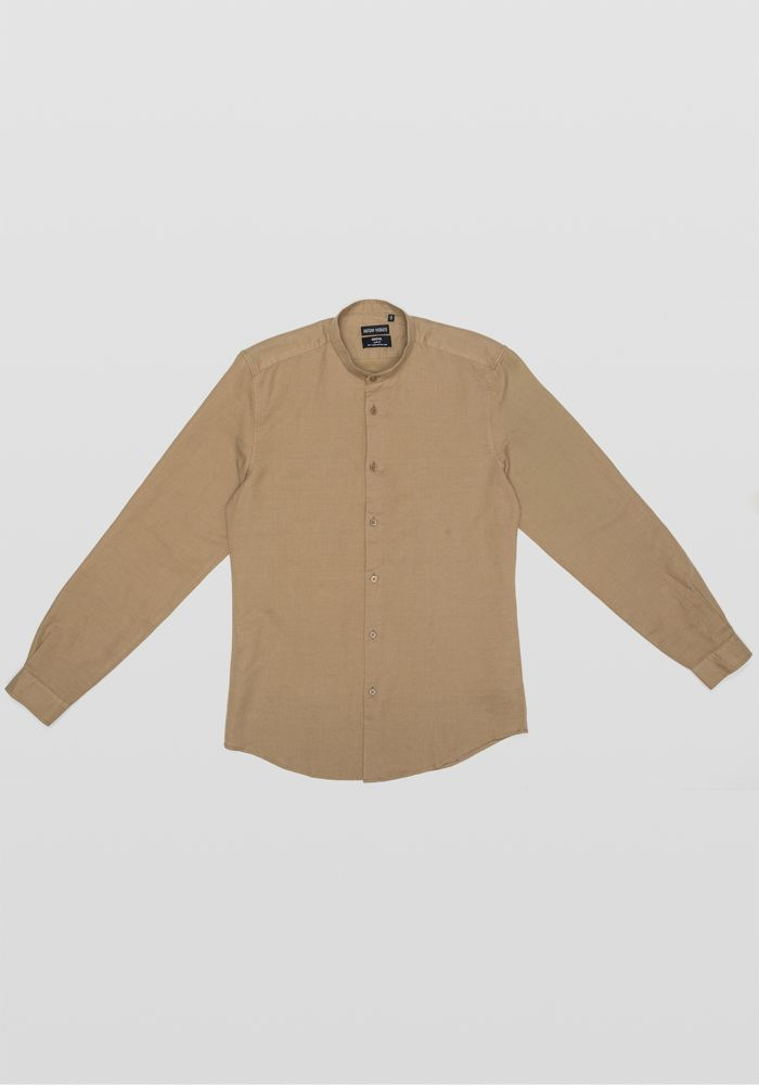 Antony Morato beige linen shirt