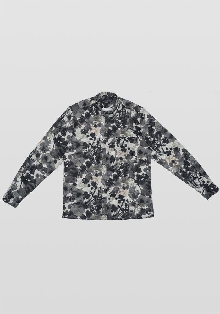Antony Morato black n grey shirt