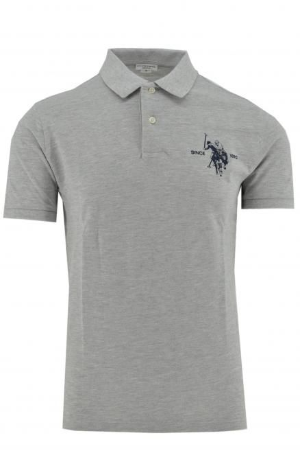 U.S. POLO ASSN. colar polo grey