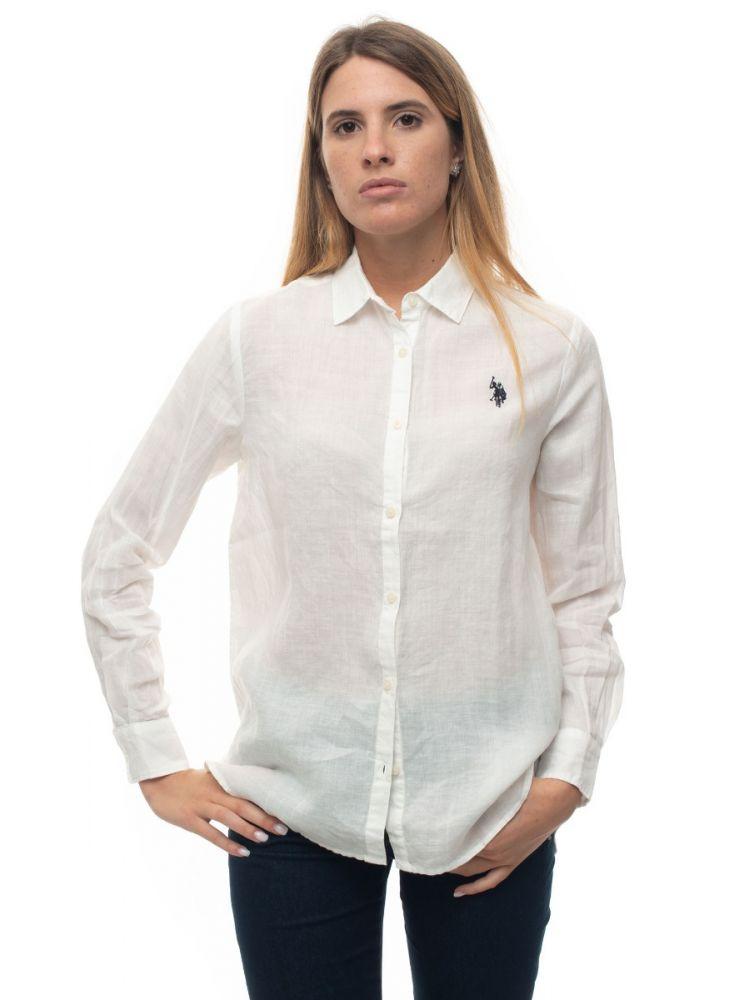 U.S. Polo Assn. long sleeved linen shirt